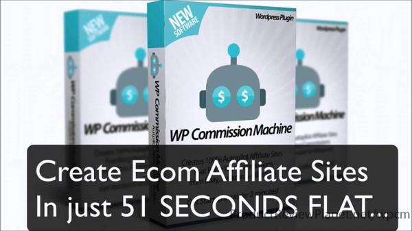 WP Commission Machine - Single Sites
