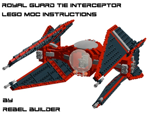 LEGO Royal Guard TIE Interceptor Instructions