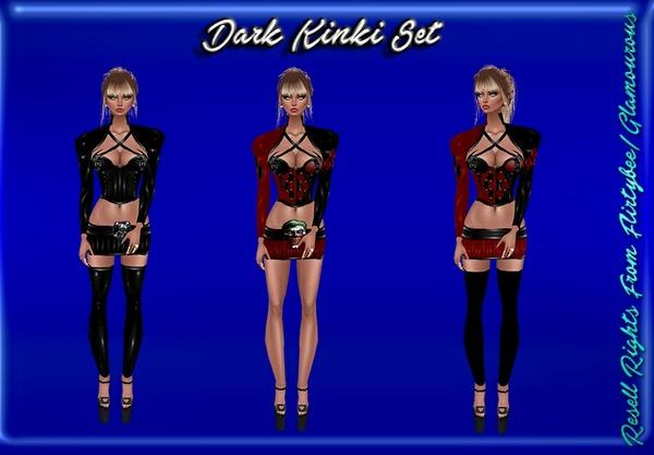 Dark Kinki Set Catty Only!!!