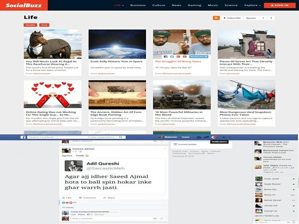 SocialBuzz - Ultimate Social Media Portal