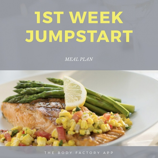 1ST WEEK JUMPSTART