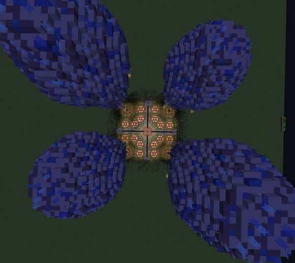 Minecraft Hub ( 4 Portals )