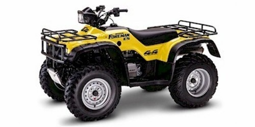 HONDA TRX450S / TRX450FM / TRX450ES / TRX450FE FOURTRAX FOREMAN SERVICE MANUAL 1998-2004 DOWNLOAD