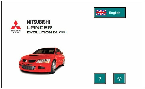 Mitsubishi Lancer EVO IX 2006 Factory Service Manual