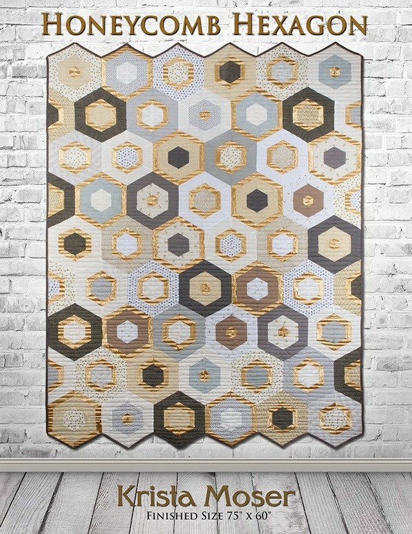HONEYCOMB HEXAGON PDF DOWNLOADABLE QUILT PATTERN