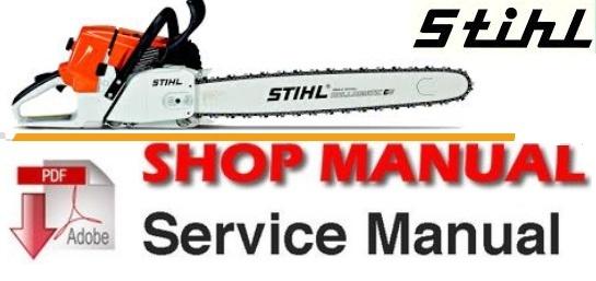 Stihl MS 210, MS 230, MS 250 Workshop Service Repair Manual