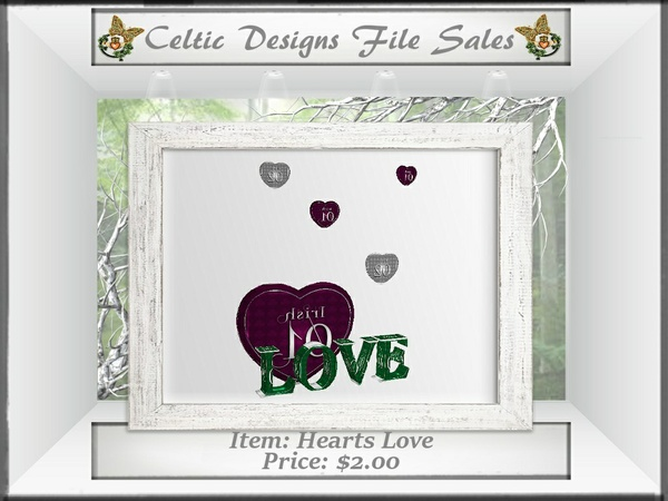 CD Hearts Love