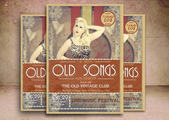 Old Songs Flyer