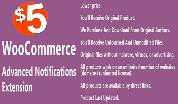 WooCommerce Advanced Notifications Extension