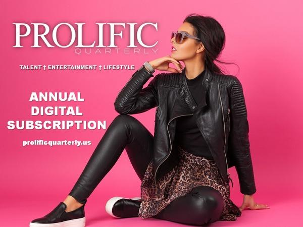 Prolific Quarterly Annual Subscription