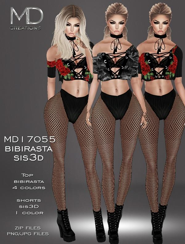 MD17055 - Bibirasta & Sis3D