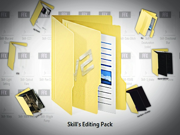 Skill's Editing Pack #2 (BIGGER AND BETTER!)