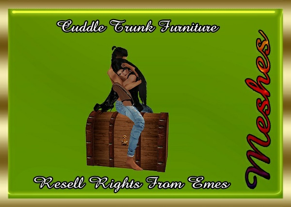 Cuddle Trunk Furniture Catty Only!!!