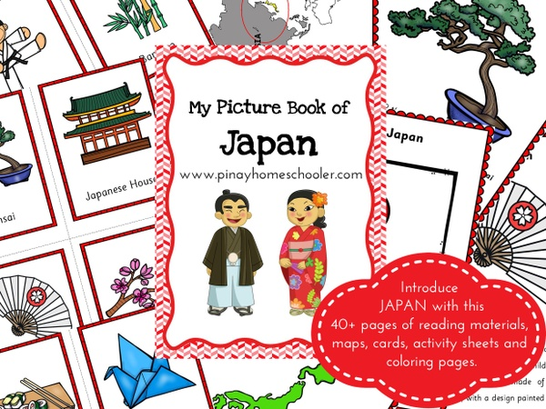 JAPAN: Picture Book and Cards