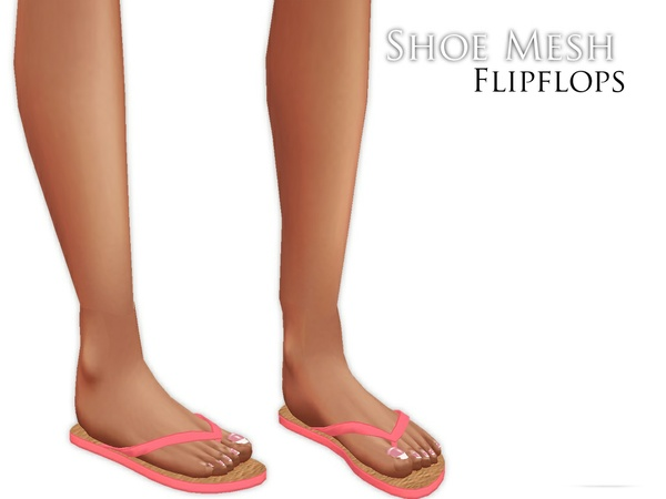 IMVU Mesh - Shoes - Flipflops (Fem)