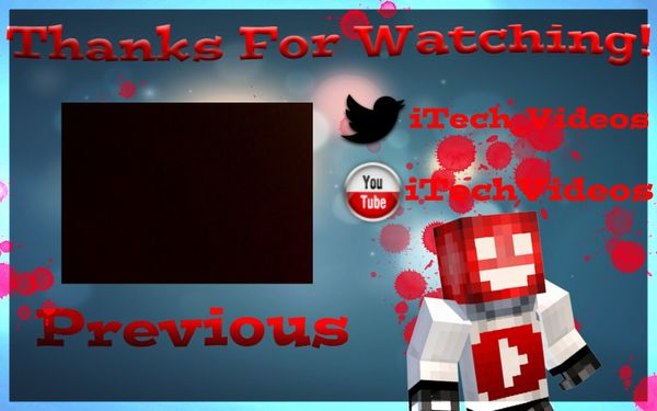 YouTube Outro