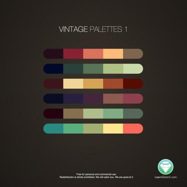 Vintage Palettes 1
