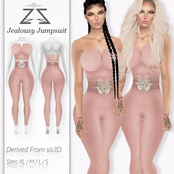 Jealousy Jumpsuit 332