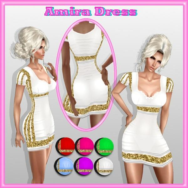 amira dress texture  HD