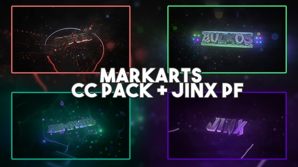 MarkArts Official CC Pack - Like Braz + Jinx AE Project File (CS6+)