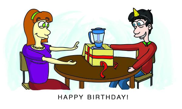 COMICGRAM - Happy Birthday E-Card
