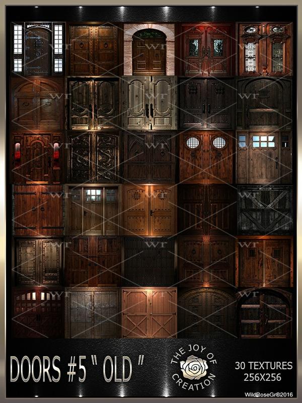 """~DOORS #5 """" OLD """" TEXTURE PACK ~"""