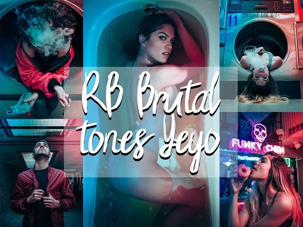 RB Brutal tones presets (LR)  // By Yeyo