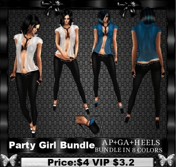 PARTY GIRL MEGA BUNDLE