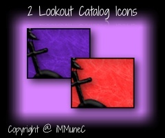 2 Lookout Catalog Icons