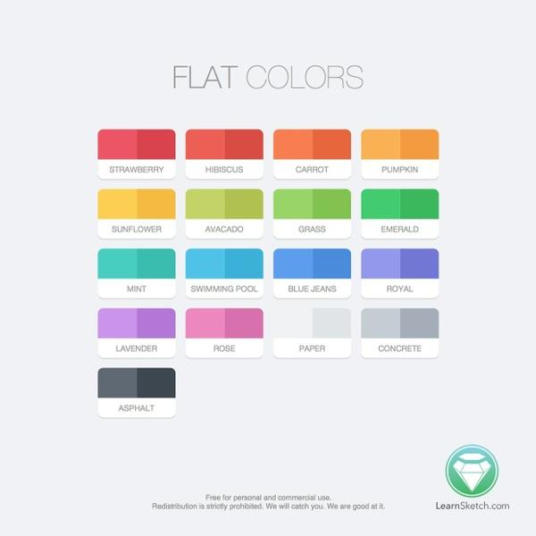 Flat Colors