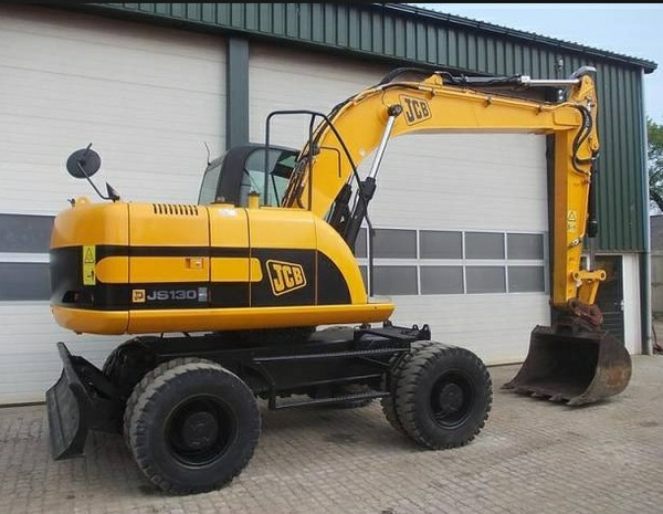 JCB JS130W, JS150W Wheeled Excavator Service Repair Workshop Manual DOWNLOAD