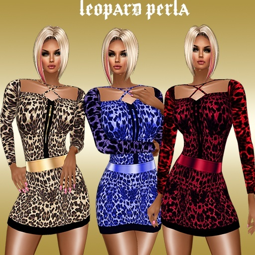 Leopard 3 color USD 1.80