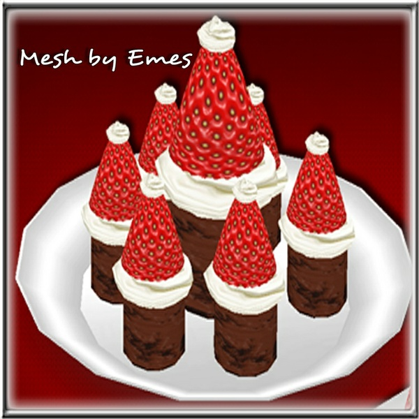 Mesh-Santa Brownies v2