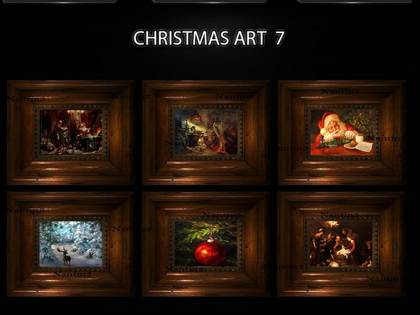 CHRISTMAS ART 7