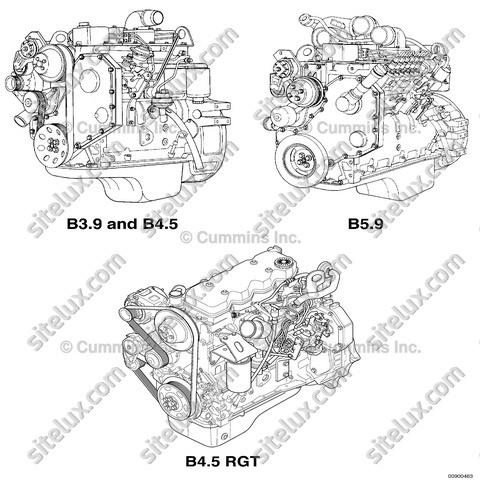 Cummins B3.9, B4.5, B4.5 RGT, and B5.9 Service Manual