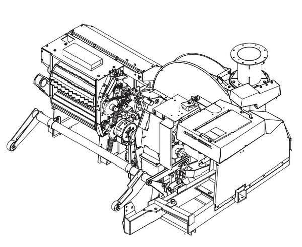 GEHL 1260/1265 Forage Harvesters Parts Manual
