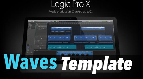Logic Pro X: WAVES Template