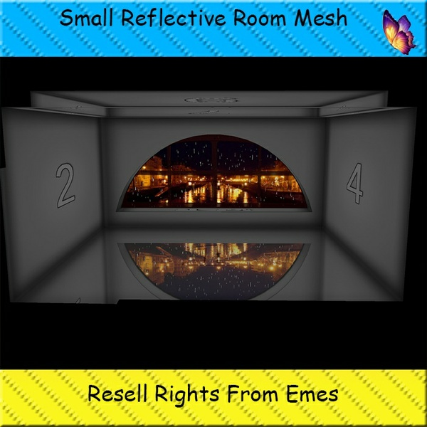 Small Reflective Room Mesh Catty Only!!!