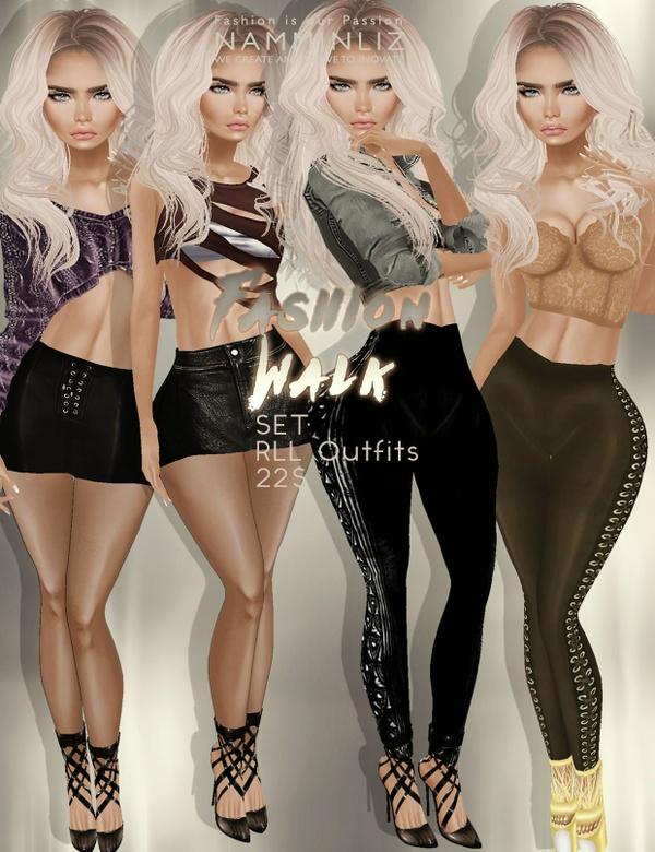 Fashion Walk Full SET RLL, RL, RLS outfit imvu