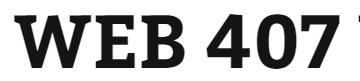 WEB 407 Week 3 Individual: Adding JavaScript