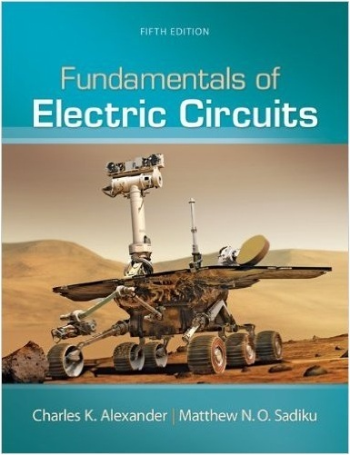 Fundamentals of Electric Circuits 5th Edition & Solutions ( PDF , Instant download )
