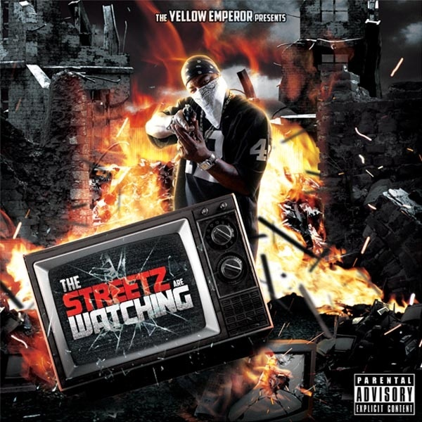 Streetz are Watching Mixtape CD Cover Template