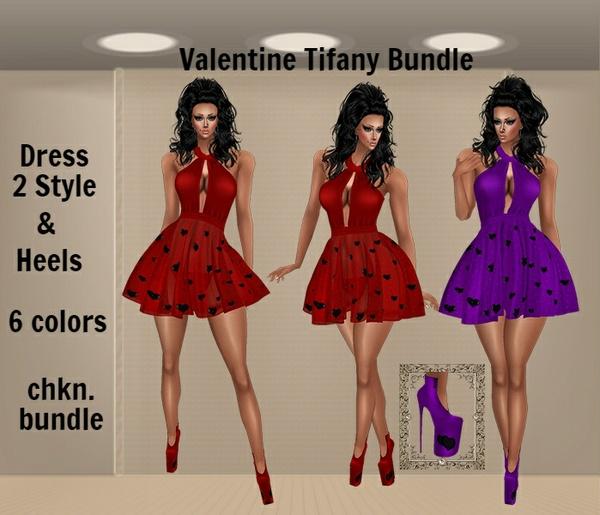 WNT -34 Valentine Tifany Bundle