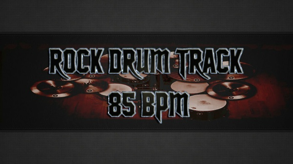 Rock Drum Track 85 BPM