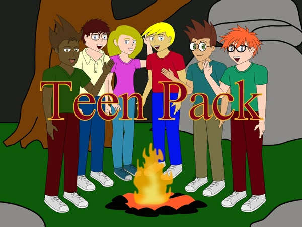 M1 Teen Pack for Moho and Anime Studio