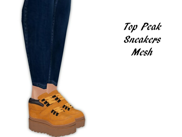 IMVU Mesh - Shoes - Top Peak Sneakers