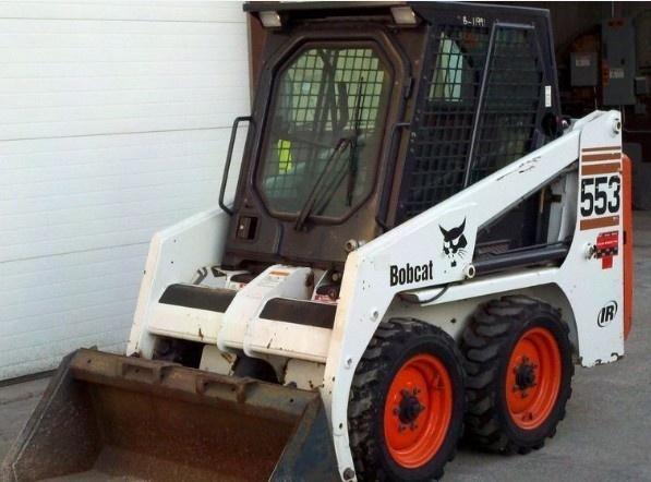 Bobcat 553 Skid Steer Loader Service Repair Manual DOWNLOAD ( S/N 516311001 , 516411001 & Above )