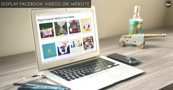 LEVEL 3 - Display Facebook VIDEOS on Website