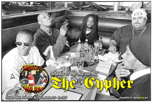The Cypher (p1) feat Big PUN, DMX, CANIBUS, MOS DEF, JOHN FORTE and MIC G