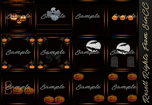 Halloween Classics Textures Pack Catty Only!!!
